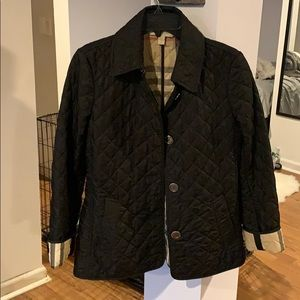 Jackets & Blazers - Burberry quilted jacket size small